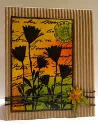Darkroom Door ~ Pressed Flowers Collage (Tutorial)