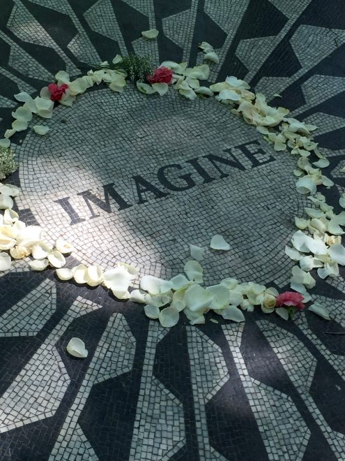 Imagine - John Lennon Memorial