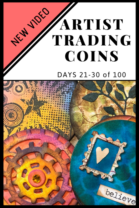 Artist Trading Coins Days 21-30 of 100 pin image